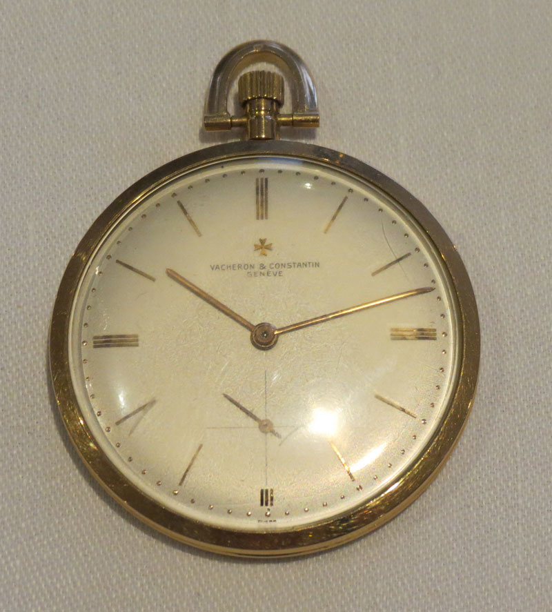 Vacheron and Constantin 18 ct Gold Ultra Slim Pocket Watch