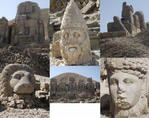 World heritage Site of Nemrut Dagi