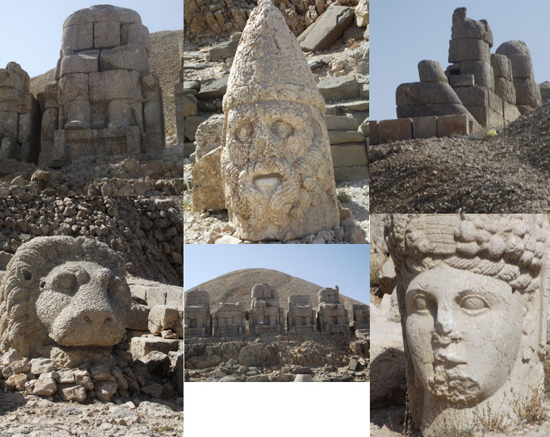 World heritage Site of Nemrut Dagi