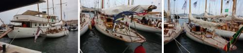 Yachts in St Tropez Harbour for Les Voilles de St Tropez