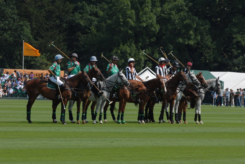 Zacara and DubaiTeams at The Veuve Cliquot Gold Cup 2013