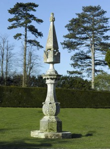 A Monumental and Rare Victorian Carved Portland Stone Sundial