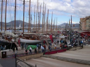 Classic Yachts in the Harbour of St. Tropez
