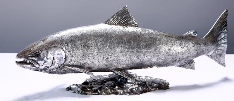 David Williams-Ellis Silver Salmon
