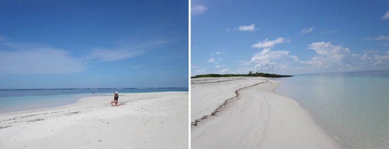 Deserted beachs
