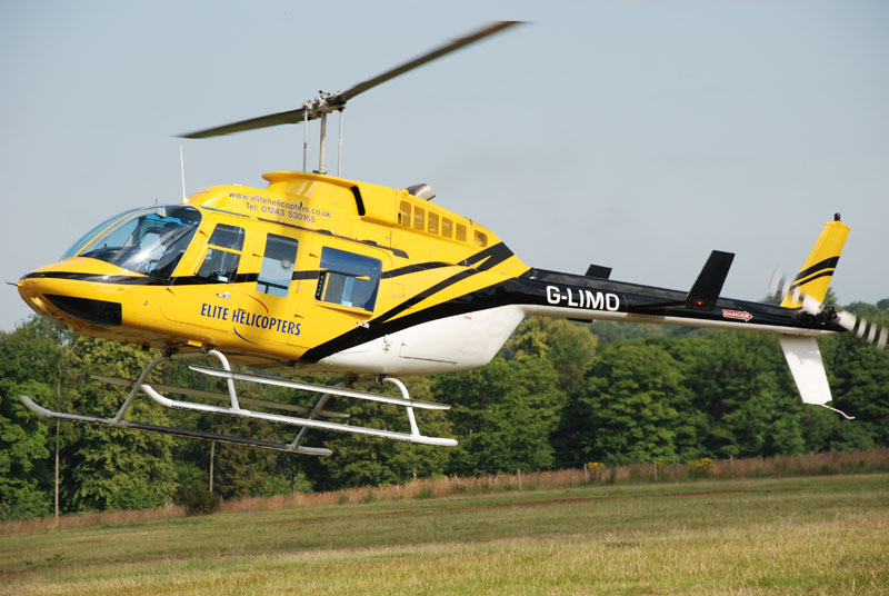 Elite Helicopter Bell 206 Long Ranger G-LIMO