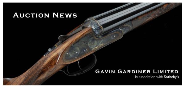 Gavin Gardner Auction 2nd Sept 2013