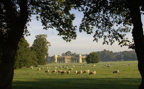 Goodwood House in Stunning Parkland Setting