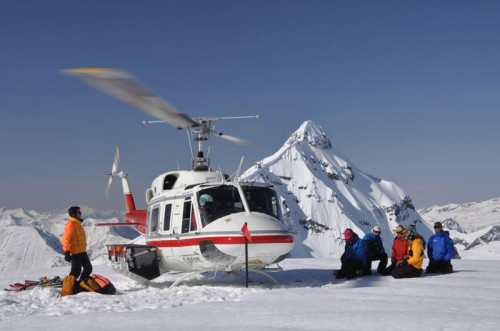 Helicopter Landed