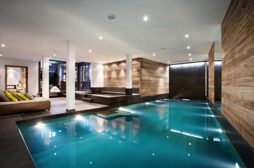 Indoor Pool The Lodge Verbier