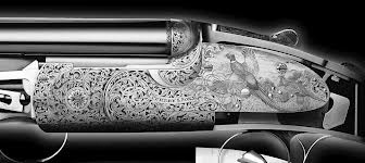 James Purdey detail of engraving
