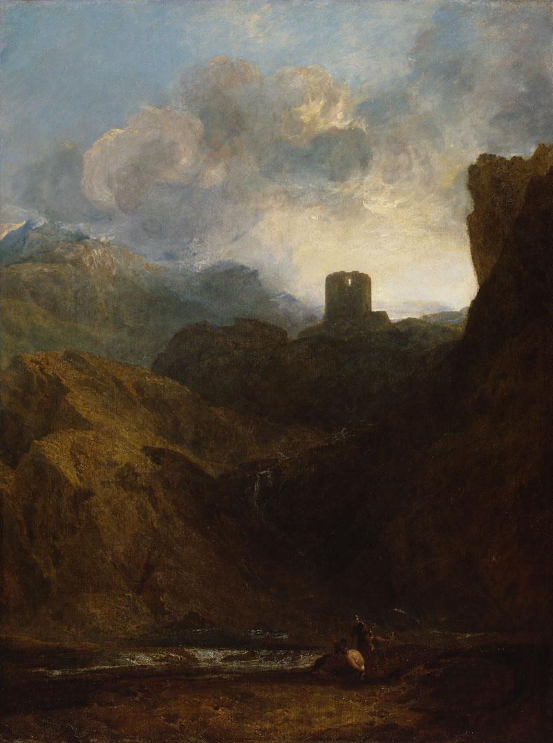 J M W Turner Dolbadern Castle