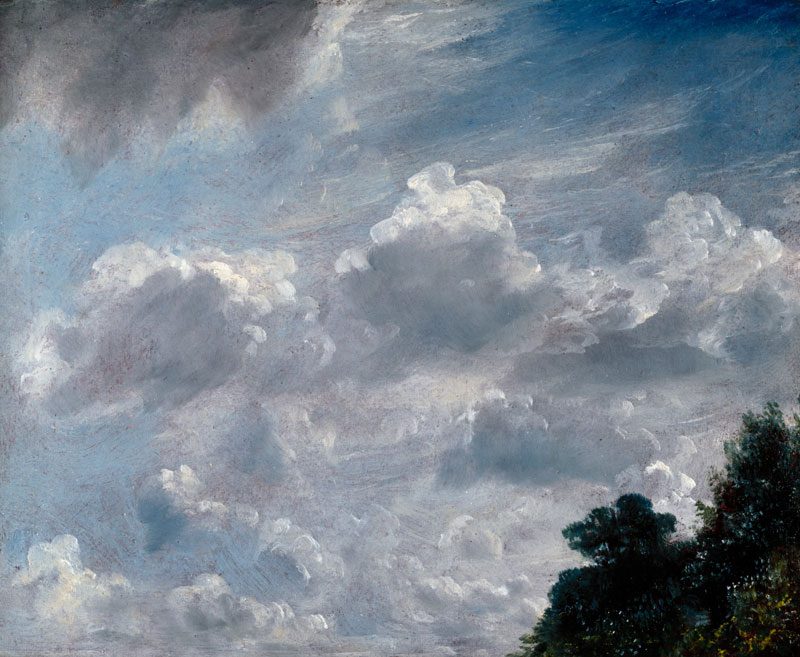 John Constable Cloud Study Hampstead