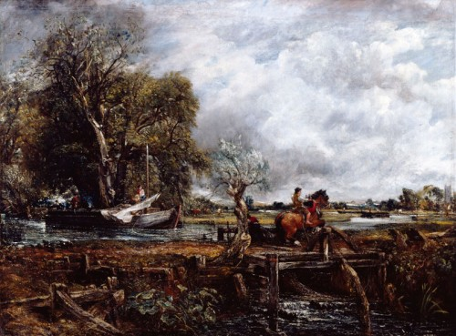 John Constable The Leaping Horse