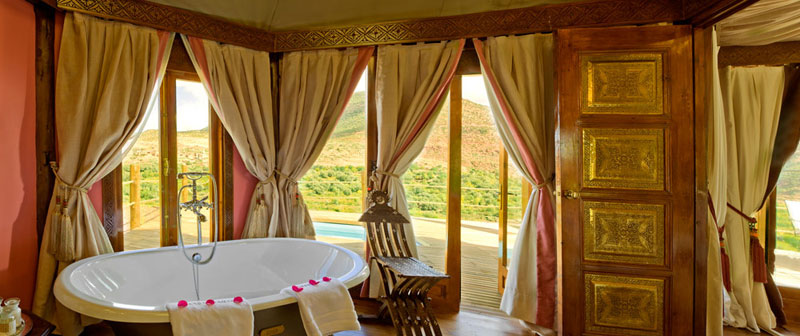 Kasbah Bedrooms Berber Tents Bath