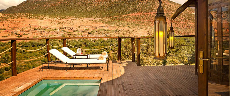 Kasbah Bedrooms Berber Tents Pool
