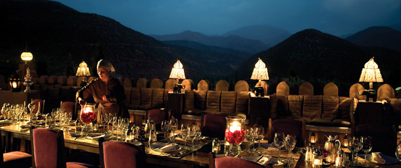 Kasbah Dining Roof Terrace