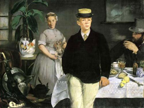Le Dejeuner Leon Leenhoff 1868