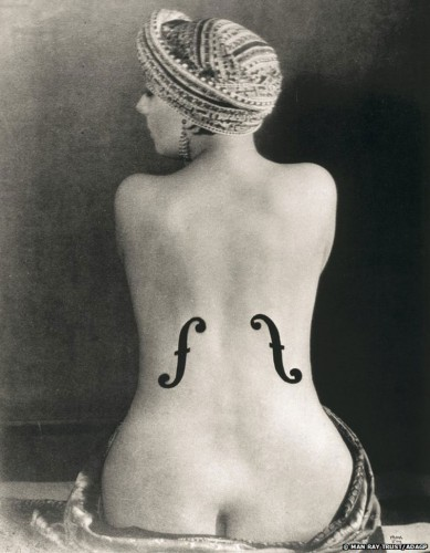 Le Violon d'Ingres by Man Ray Portrait Exhibition
