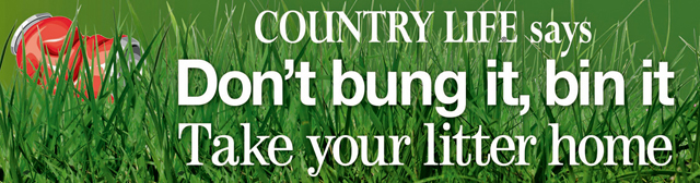 Country Life Article on Litter in countryside
