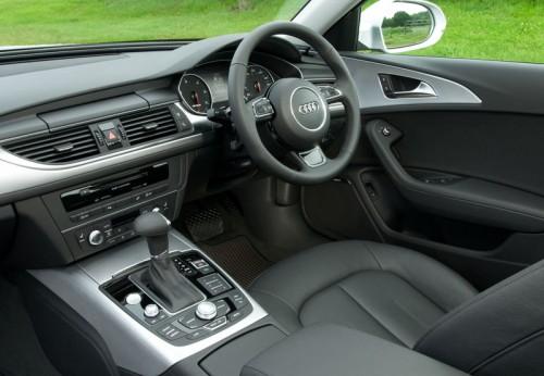 Luxurious interior of Audi A6 Allroad Quattro