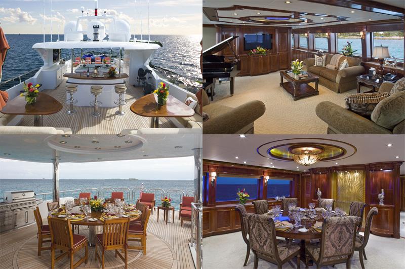 Motor yacht Natita sun deck