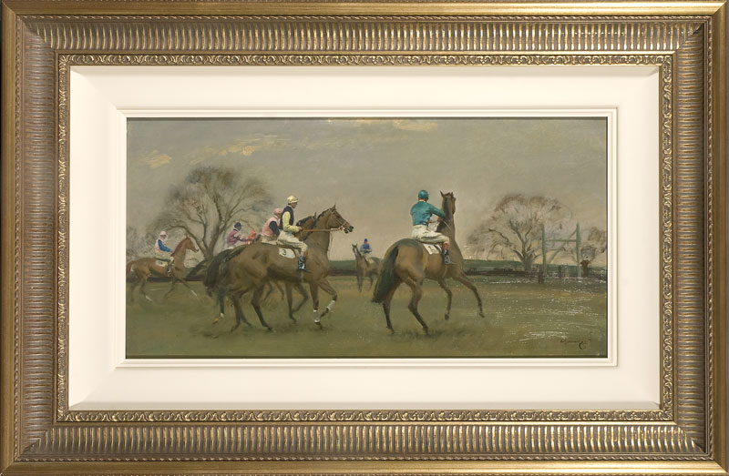 Munnings, Steeple Chase Start