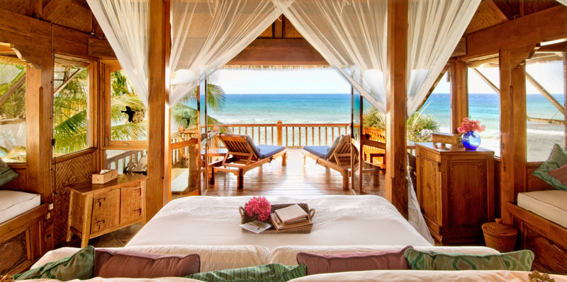 Necker Island Bali cliff room
