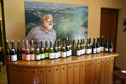 Pascal Gretton and his Bewildering Array of Cuvees