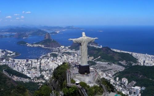Rio de Janeiro Brazil Iconic Statue of Jesus