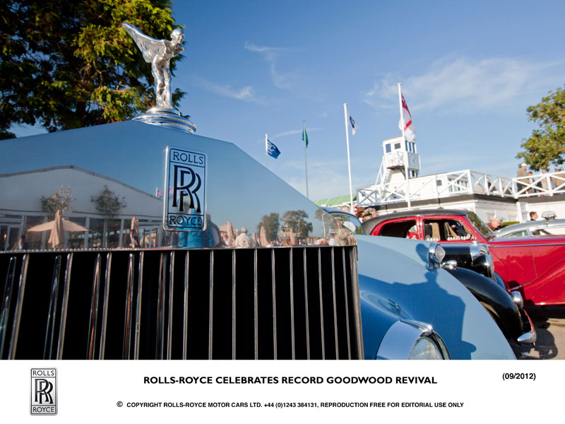 Rolls Royce at Goodwood Revival