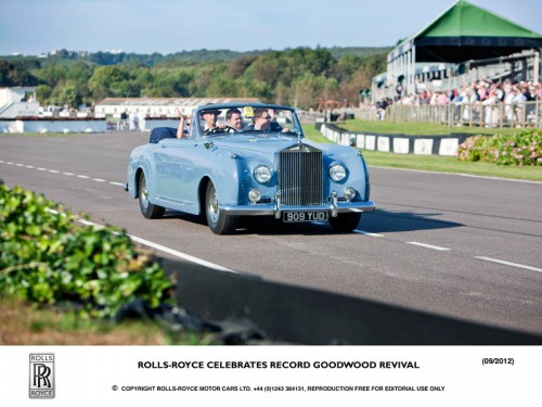 Rolls Royce at the Goodwood Revival