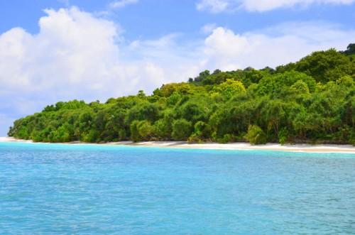 Similan Island deserted beach