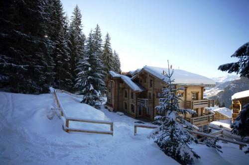 ski in at The Lodge Verbier