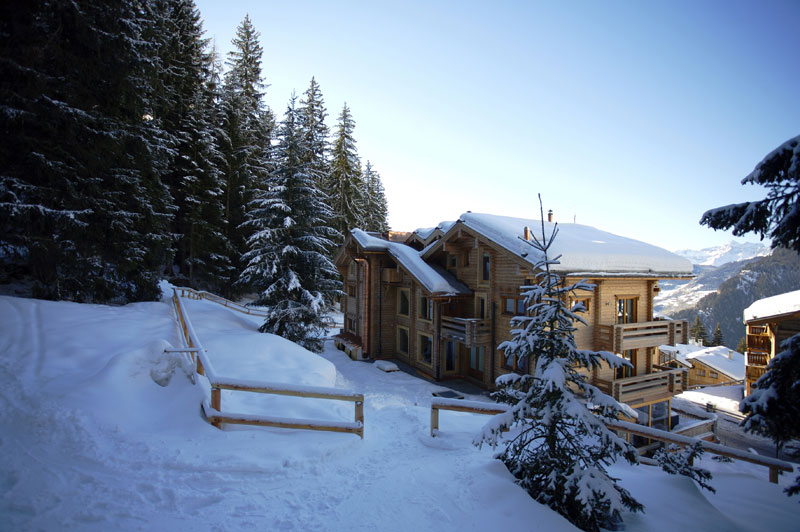 ski in at The Lodge Verbier