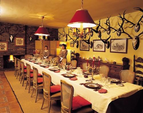 Table set for a Wonderful Dinner
