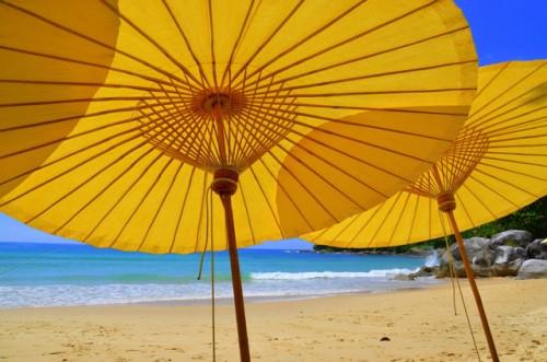 The Amanpuri Private Beach