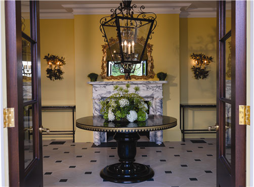 The Elegant Entrance Hall at Limewood