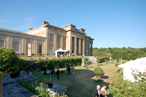 The Grounds of The Grange and outside dining